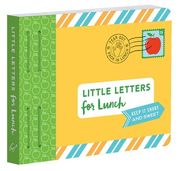 Little letters for lunch - chronicle books