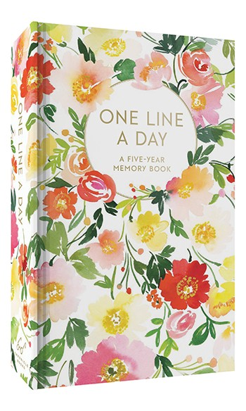 One line a day floral - chronicle books
