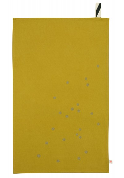 La Cerise theedoek dots colombo
