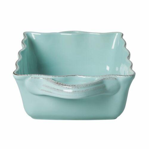 Rice stoneware ovendish large mint