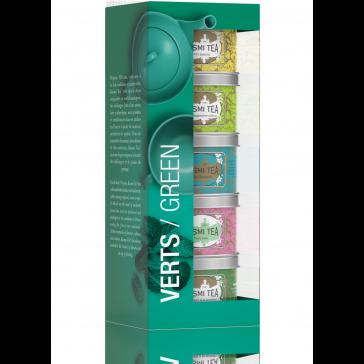 Kusmi Tea green teas 5xblikje