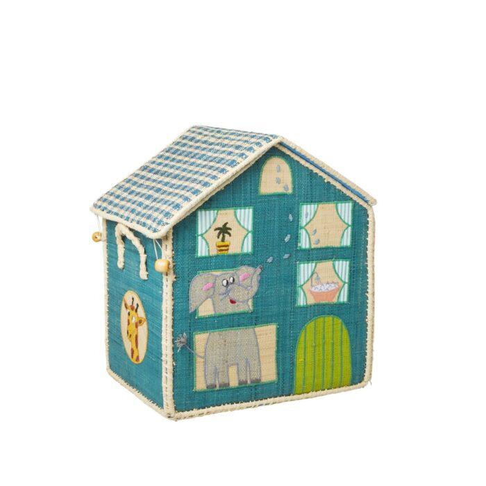 Rice Toy basket jungle house Small B