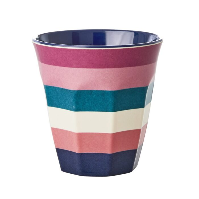 Rice cup M stri print