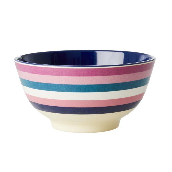 Rice melamine bowl stri