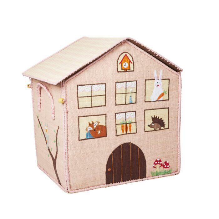 Rice Toy basket jungle house Large G