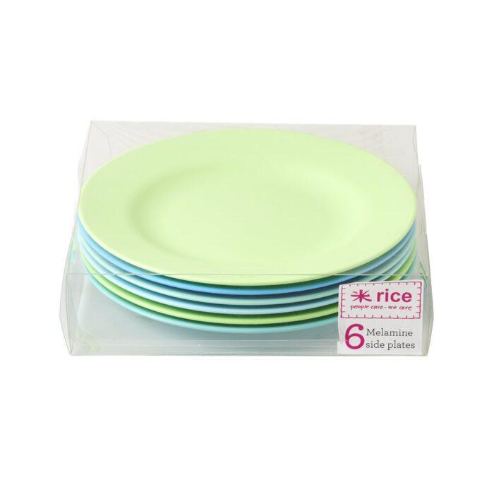 Rice melamine plate set lunch BGXC