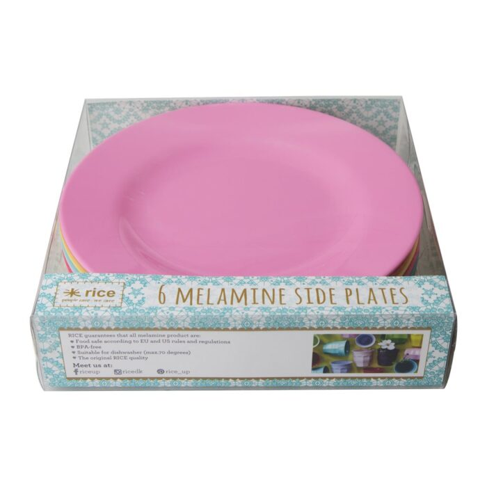 Rice melamine plate set lunch CLAXC