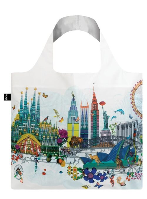 Loqi bag H&H world skyline
