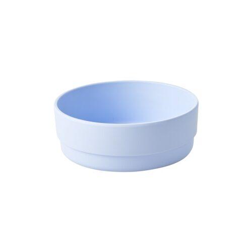 Rice natural fibre bowl blue