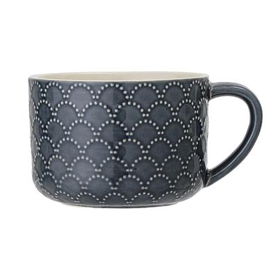 BL Mug Naomi blue 2 stoneware