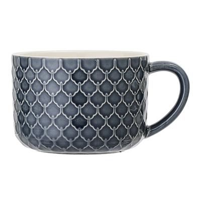 BL Mug Naomi blue 3 stoneware